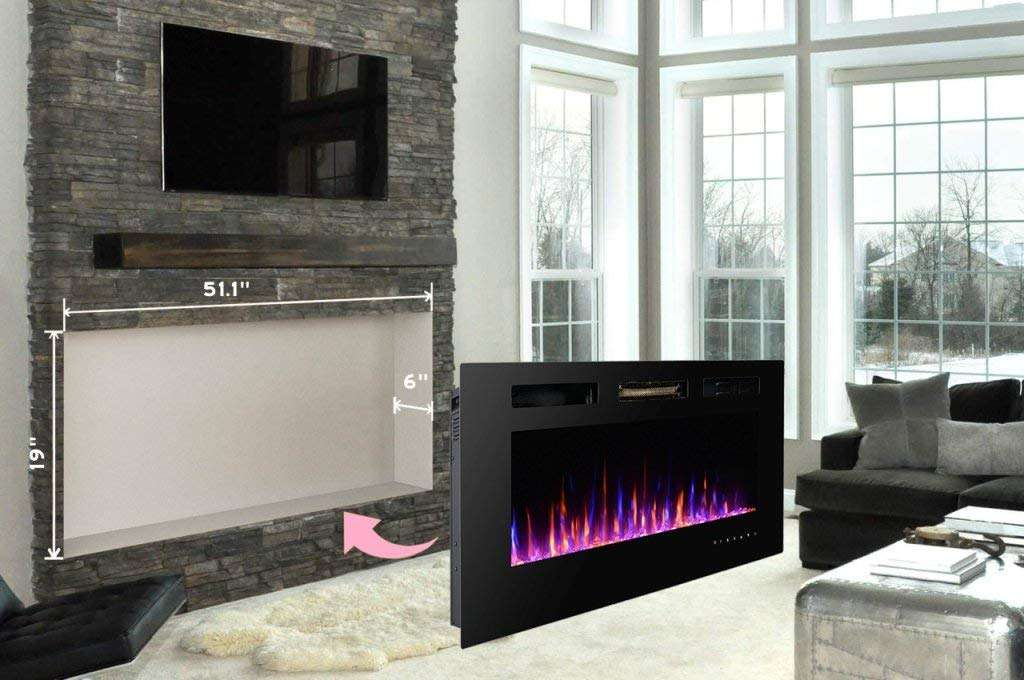 recessed electric fireplace touchstone 3gplus wall recessed electric fireplace review fireplacelabcom