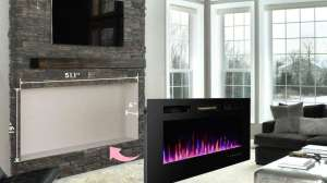 3GPlus Wall Recessed Electric Fireplace Review