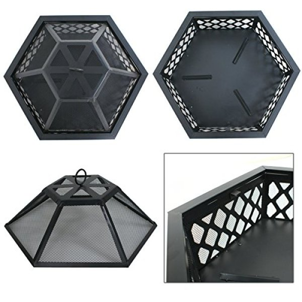 Truly F2C Outdoor Hex Shape Fire Pit worth your invest according to specs?