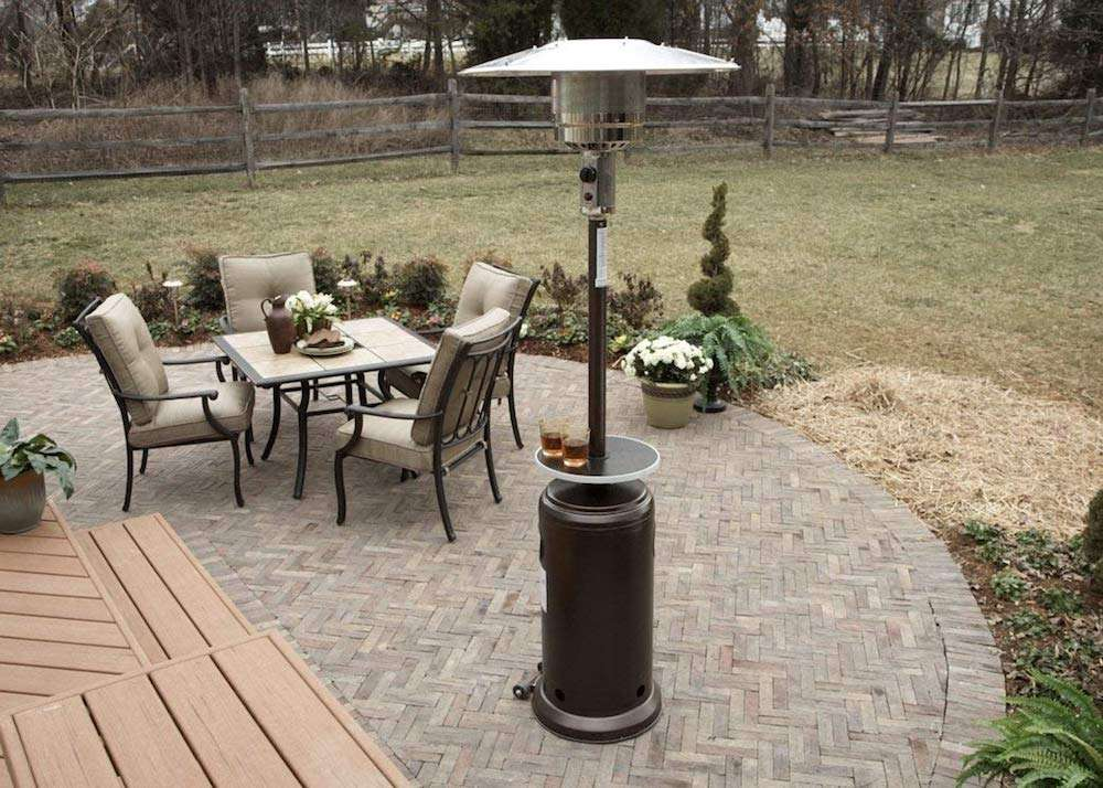 AZ Patio Heaters HLDS01 WCGT Tall Patio Heater Review
