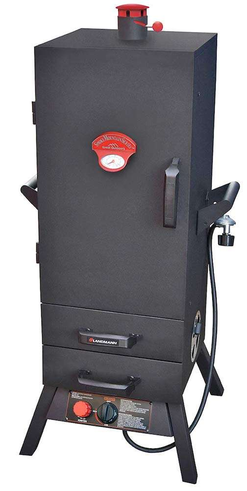 Landmann USA 3895GLA Smoky Mountain Vertical Gas Smoker, 38-Inch