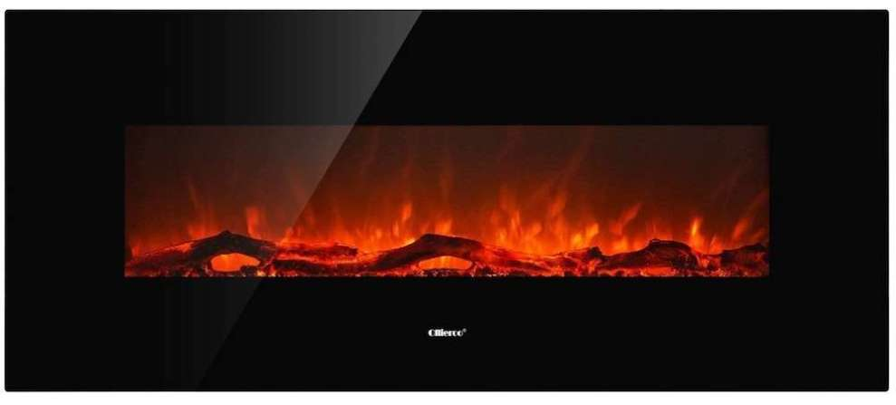 Ollieroo Smokeless Wall Mounted Electric Fireplace Review