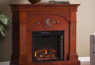 SEI Sicilian Harvest Electric Fireplace Review