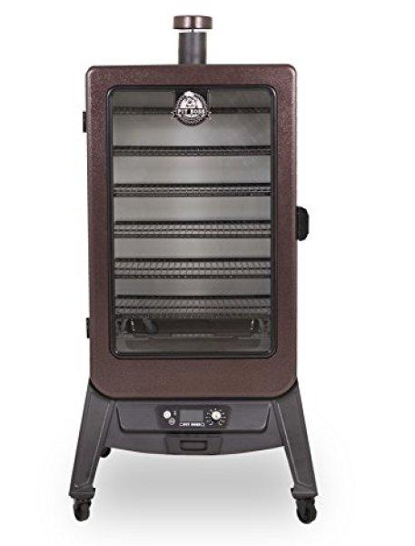 Compare Pit Boss Grills 77700 7.0 Pellet Smoker vs. Masterbuilt 20050716 Thermotemp Propane Smoker