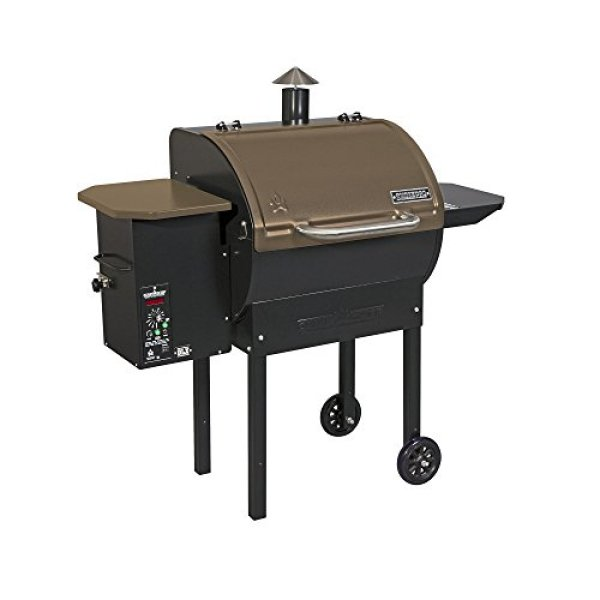 Compare Camp Chef SmokePro LUX Pellet Grill With Camp Chef SmokePro DLX Wood Pellet Outdoor BBQ Grill and Smoker