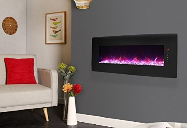 Innoflame Wall Mounted Electric Fireplace Review