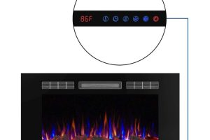 What Users Say About Valuxhome Armanni Wall Recessed Electric Fireplace Heater