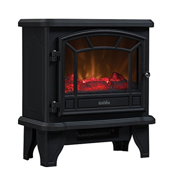 Compare Comfort Smart Jackson Infrared Electric Fireplace Stove with Duraflame Maxwell Electric Stove