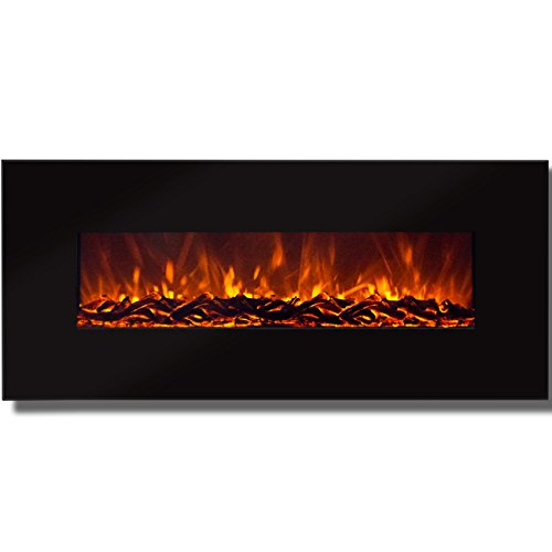 """Compare BCP 50"""" Electric Wall Mounted Fireplace Heater vs. Northwest Wall Mounted Electric Fireplace"""
