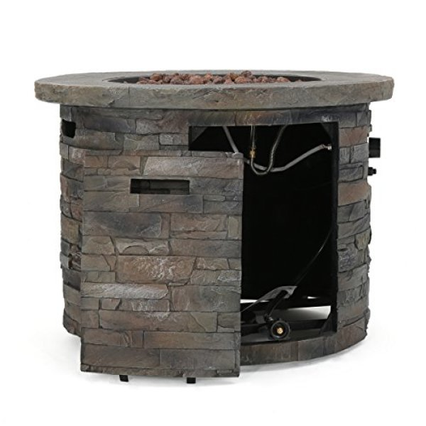 What's the Disadvantage of Stonecrest Patio Furniture Outdoor Propane Fire Pit