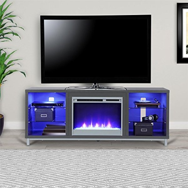Ameriwood Home Lumina Fireplace TV Stand Review