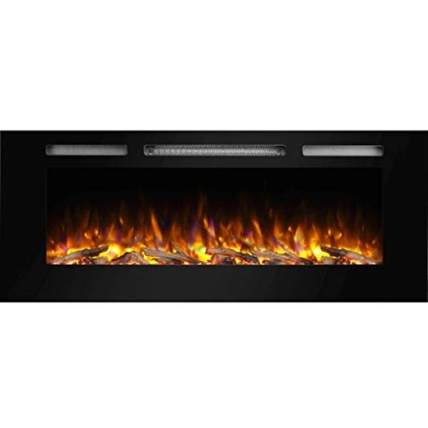 Compare The GMHome Wall Recessed Electric Fireplace With PuraFlame Recessed Electric Fireplace