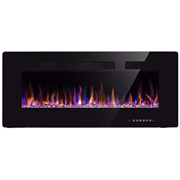 Compare U-MAX Recessed Wall Mounted Electric Fireplace vs. Xbeauty Recessed Wall Mounted Electric Fireplace