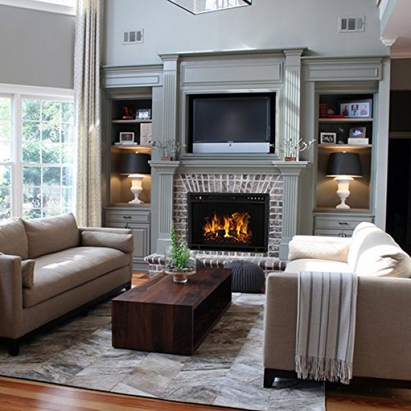What's the Disadvantage of Regal Flame Flat Ventless Heater Electric Fireplace Insert