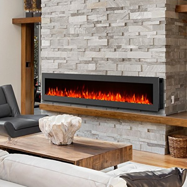 Compare GMHome Freestanding Wall Mounted Electric Fireplace vs. Regal Flame Charlotte Bio Ethanol Wall Mounted Fireplace