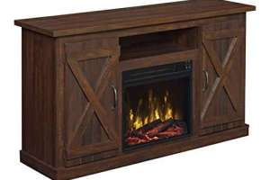 Comfort Smart Killian Electric Fireplace TV Stand Review
