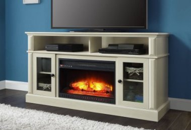 Whalen Barston Media Fireplace TV Stand Review