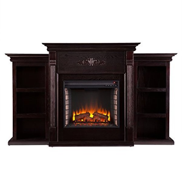 SEI Tennyson Electric Fireplace TV Stand Review