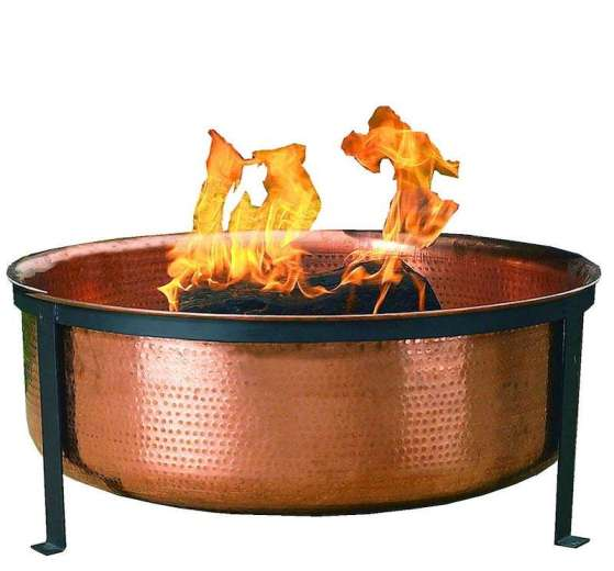 CobraCo SH101 Hand Hammered Copper Fire Pit Review
