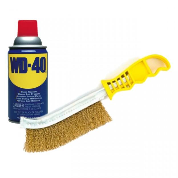 Wd40 On Wood Stove