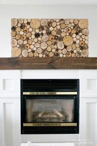 Inexpensive Fireplace Wall Decor