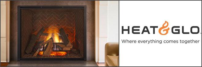Heat & Glo Gas Fireplace Inserts