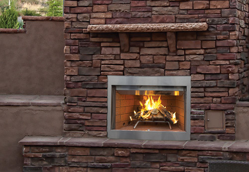 Superior Outdoor Wood Burning Fireplace WRE3000  The Fireplace Place Atlanta