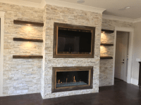 DaVinci Linear Fireplace Installation | The Fireplace ...