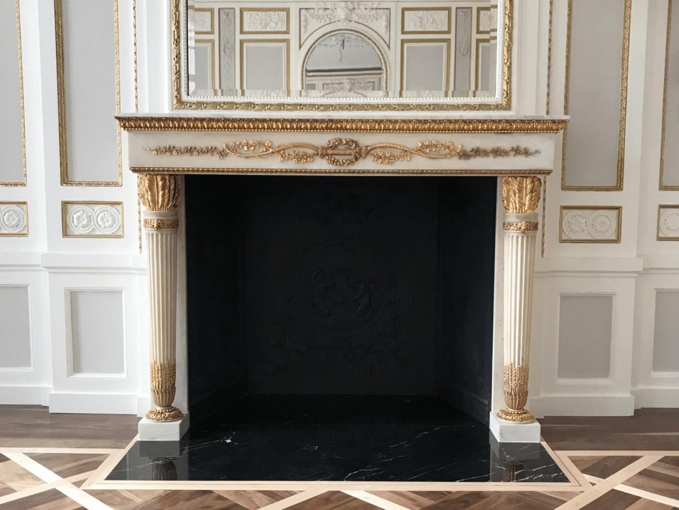 Temple Chambers 2013  Fireplace Restoration