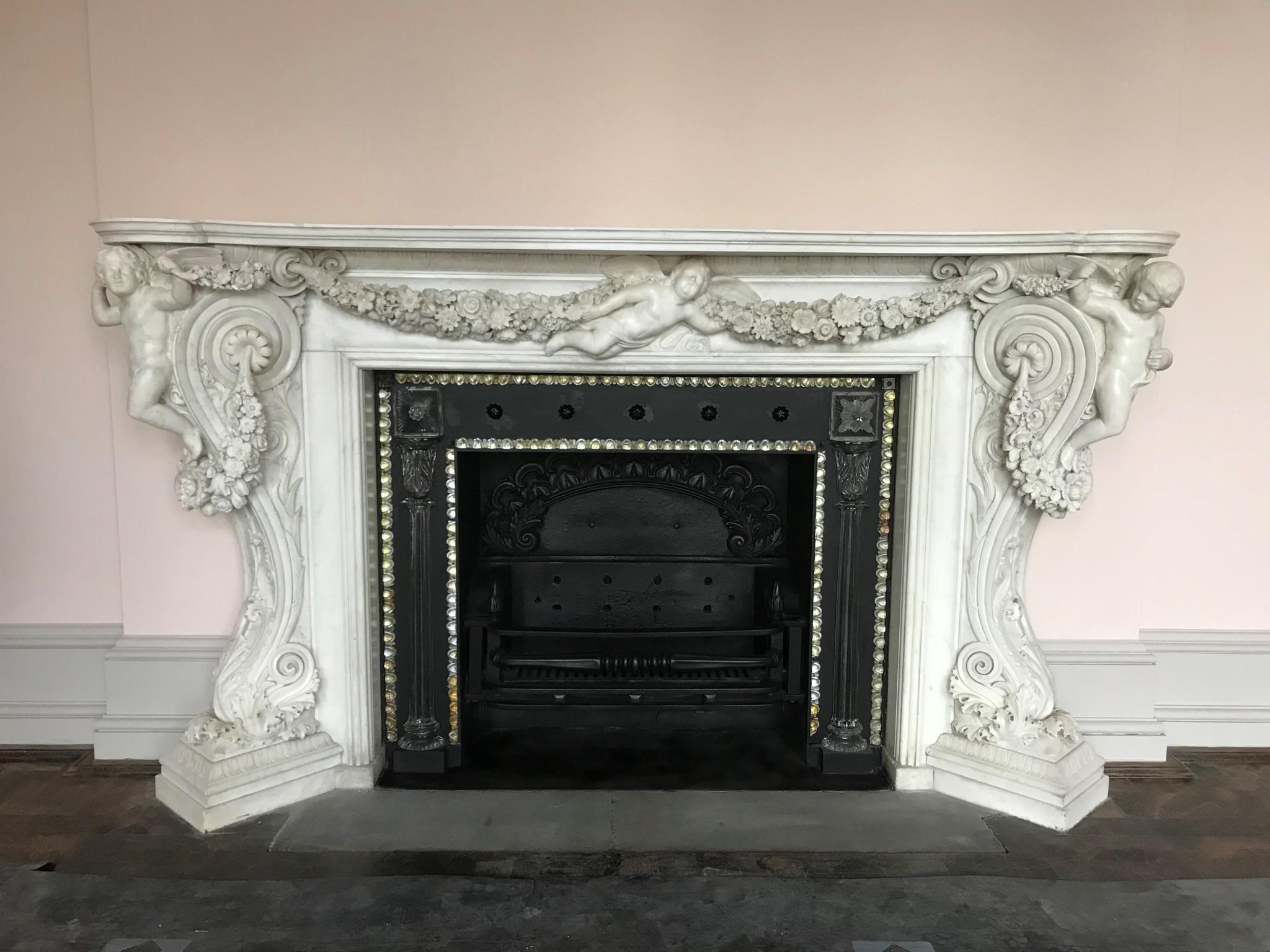 Grosvenor Crescent Embassy Fireplace Restoration