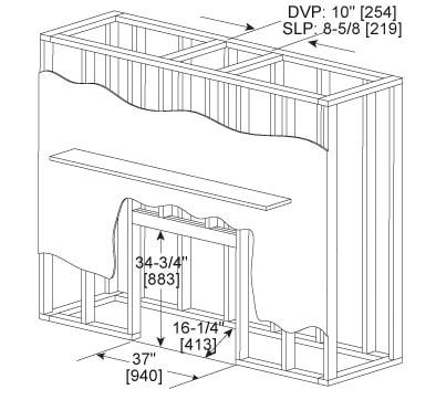 Heatilator Eclipse Gas Fireplace Series