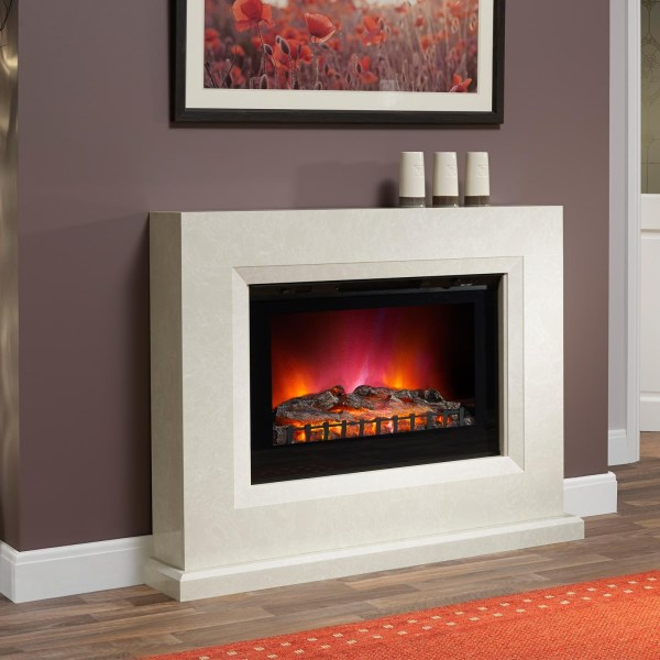 Electric Fireplace Suite