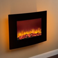 Wall Mount Electric Fire - Home Design