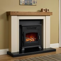 Free Delivery   Elgin & Hall Bracken Electric Fireplace Suite