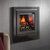 Modern Gas Fire | Crystal Fires Royale Hole in the Wall ...