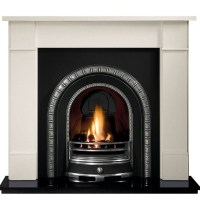 Price Freeze | Gallery Brompton Stone Fireplace Includes ...