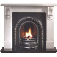Gallery Kingston Marble Fireplace Surround/Mantel | Fast ...