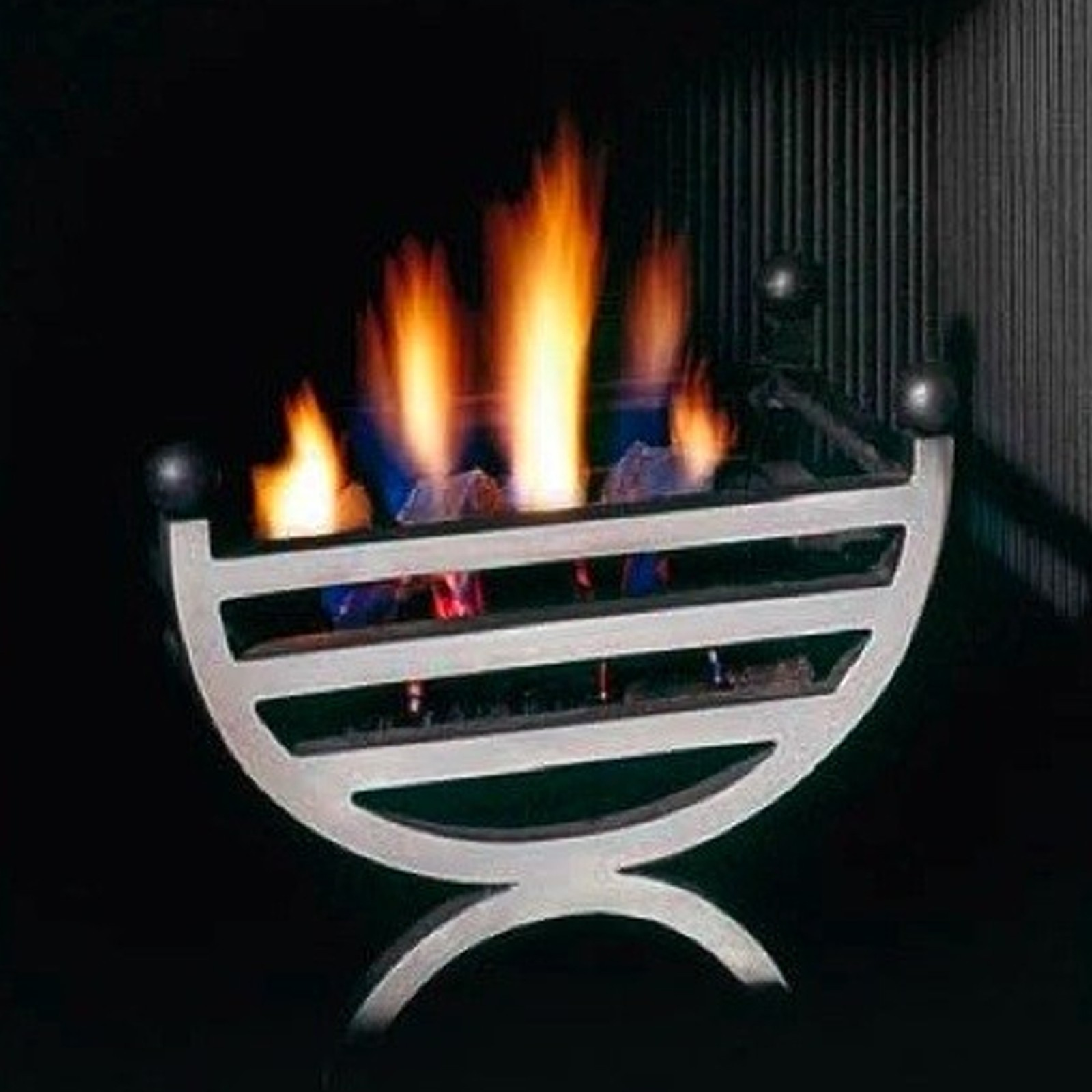 Gallery Small Cottage Cast Iron Fire Basket