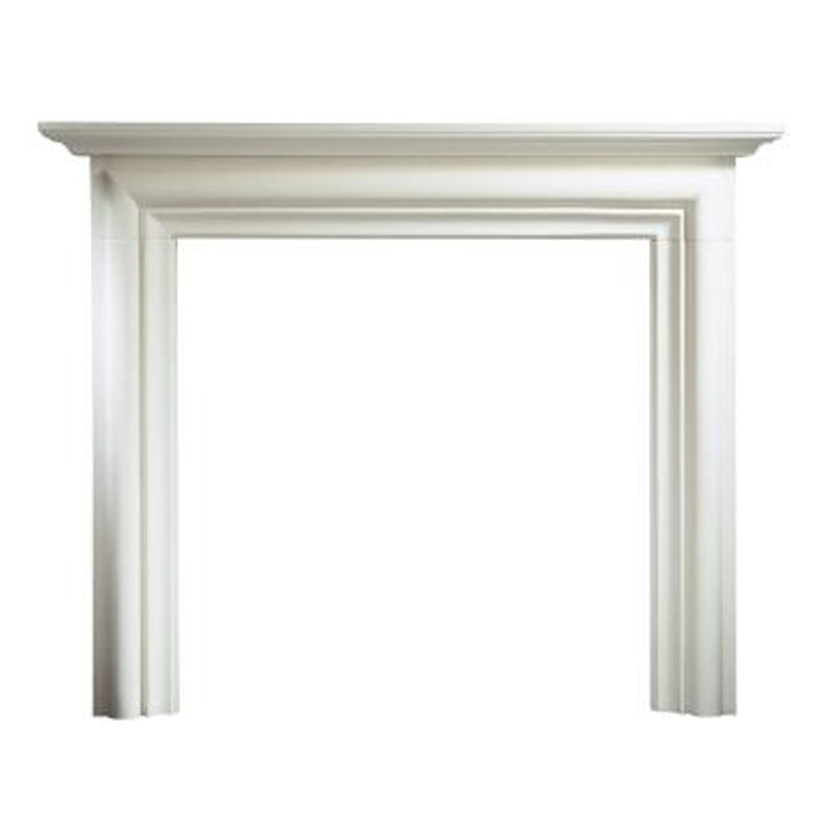 Gallery Modena Limestone 55 Fireplace Surround Mantel