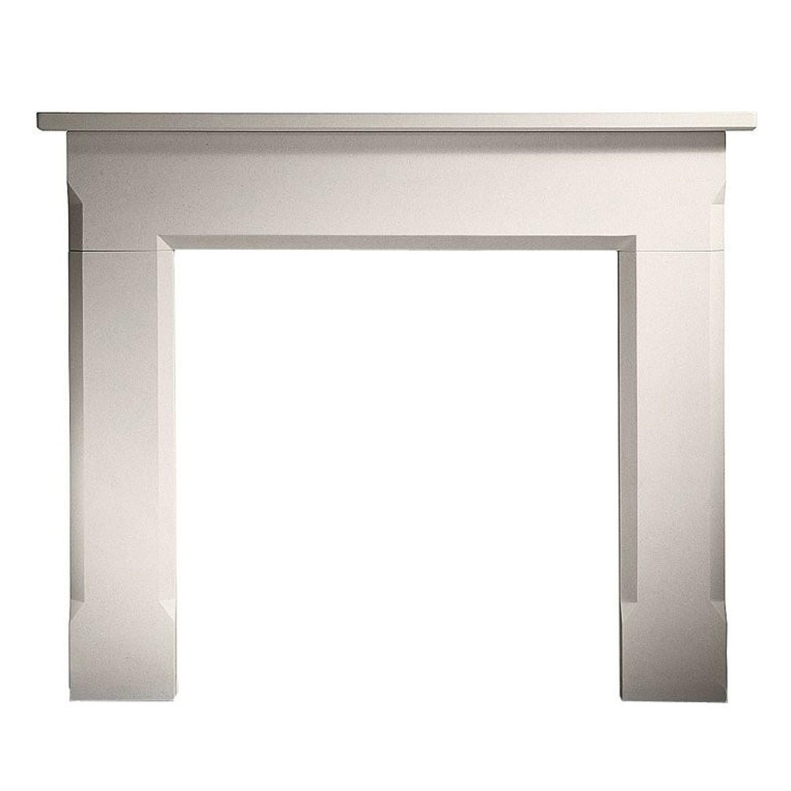 Luxury Gallery Sienna Limestone Fireplace Surround Mantel