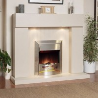 Stone Suite   Katell Durban Electric Fireplace Suite ...