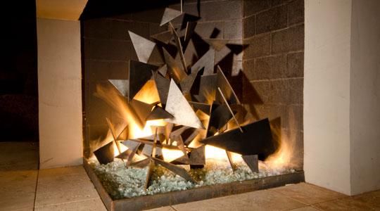 Fireplace Sculpture  Portfolio