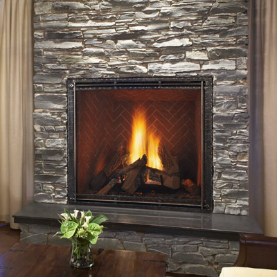 Gas Fireplaces  Fireplace Stone  Patio