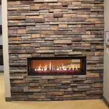 Manufactured Stone Fireplace & Patio