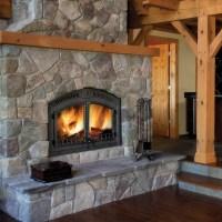 Wood Fireplaces | Fireplace Stone & Patio
