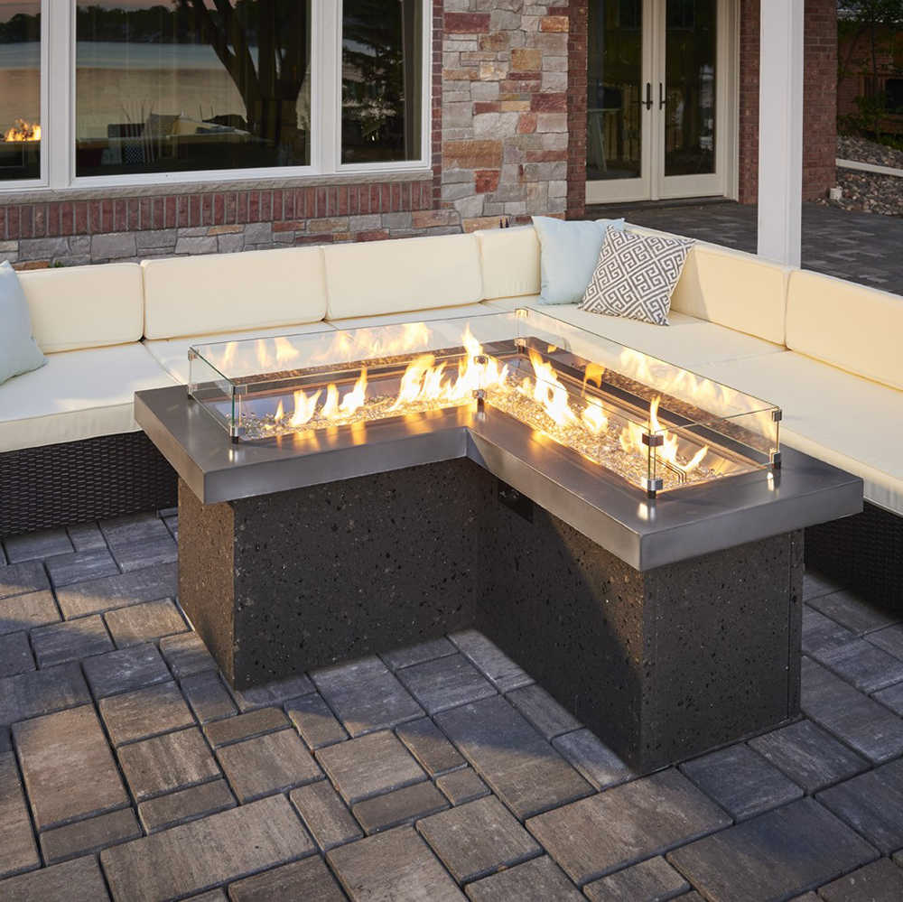 sofas by design des moines annalise sofa furniture village fire pits | fireplace stone & patio