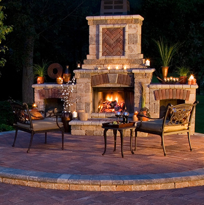 Outdoor Fireplaces Fireplace Stone Amp Patio