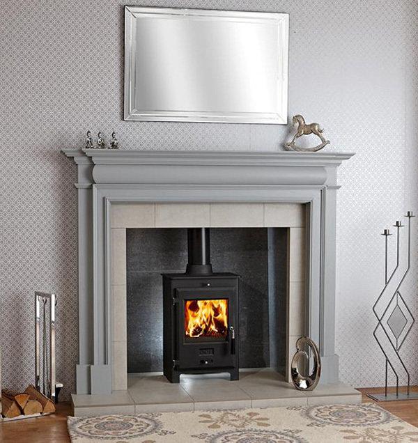 oer 5 multi fuel stove fireplace