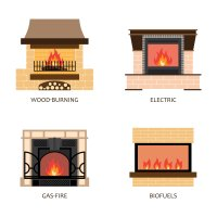 Breaking Down Gas Vs. Electric Fireplaces - Fire Place Utah