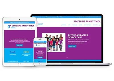 Stateline YMCA Website Design and Maintenance